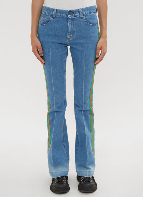 Gucci Stretch Denim Flare Jeans