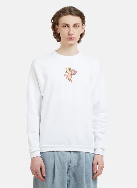Pressure Angel Satan Crew Neck Sweater