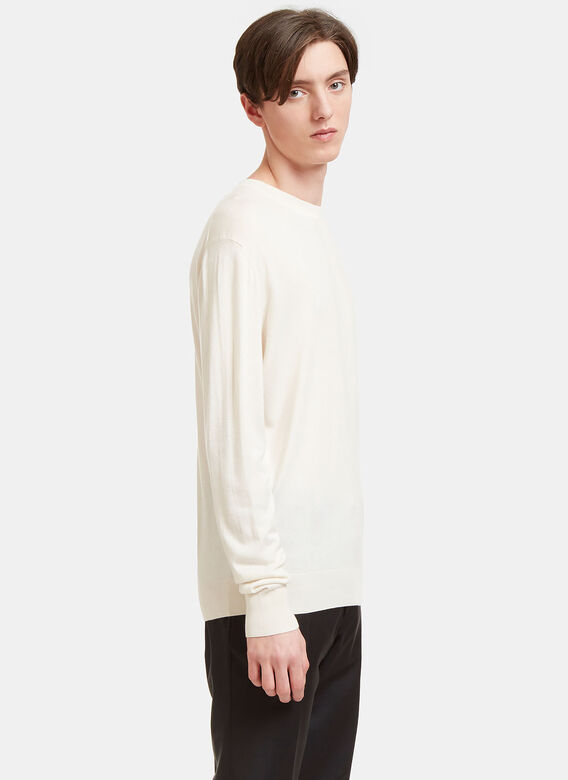 Aiezen AIEZEN Cashmere and Silk Knit T-shirt 3