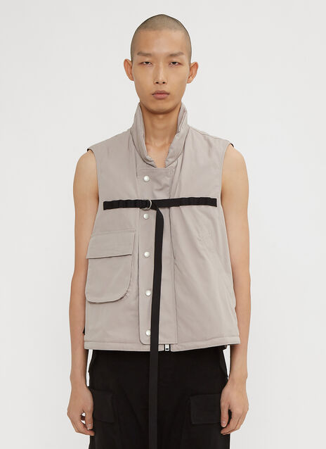 Unravel Project Padded Military Vest