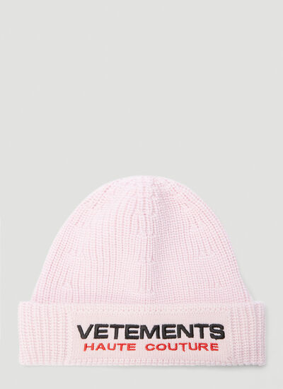 Vetements Haute Couture Beanie Hat