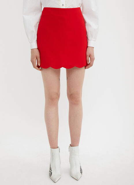 Miu Miu Faille Cady Skirt