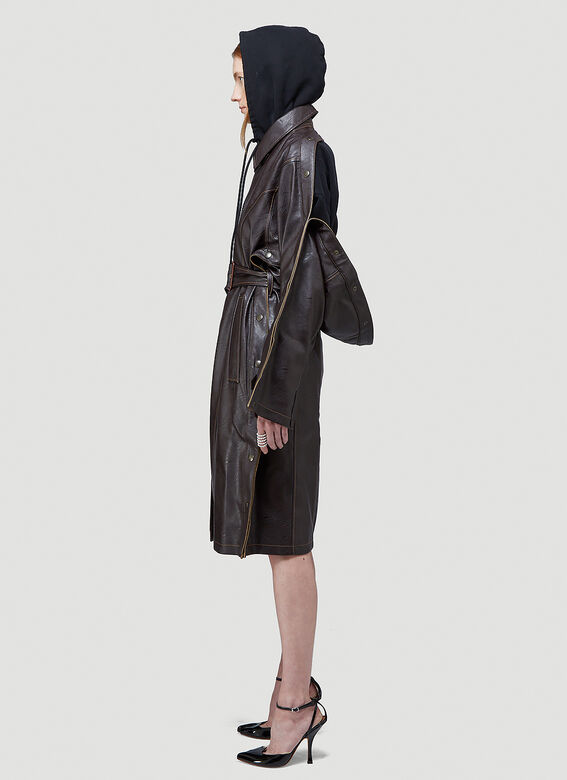Y/Project SNAP TRENCH COAT 3