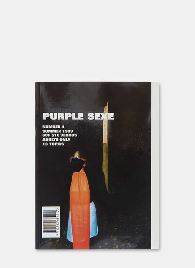 Books Purple Sexe Number 4 by Olivier Zahm