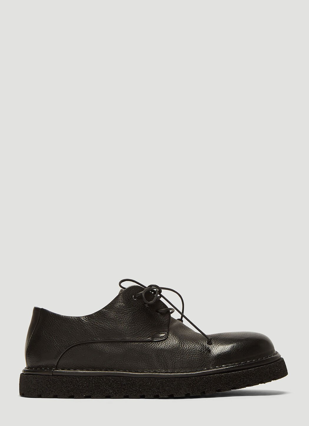 Marsèll Shoes Pallottola Pomice Derby Shoes in Black