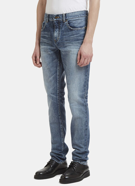 Saint Laurent Dirty Skinny Jeans