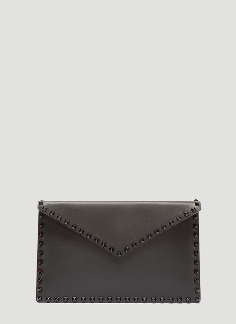 Valentino Rockstud Leather Pouch