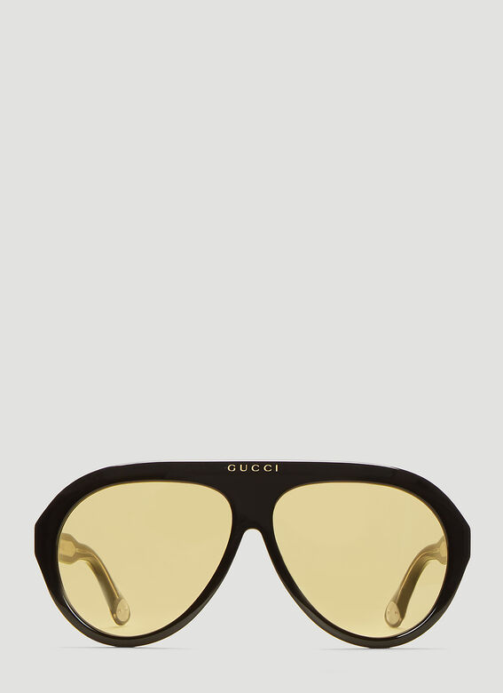 f8133e98 Gucci Navigator Sunglasses in Black | LN-CC