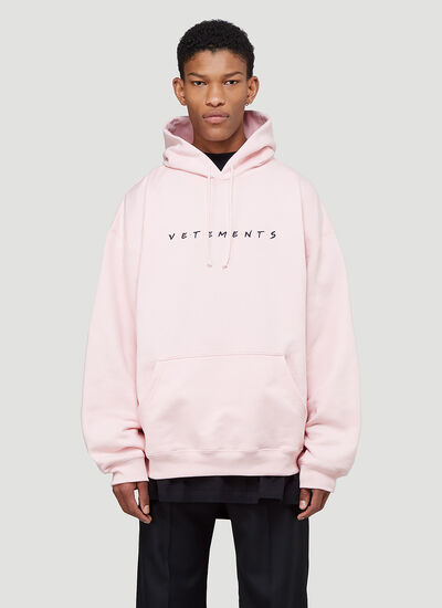Vetements Friendly Logo Hooded Sweatshirt