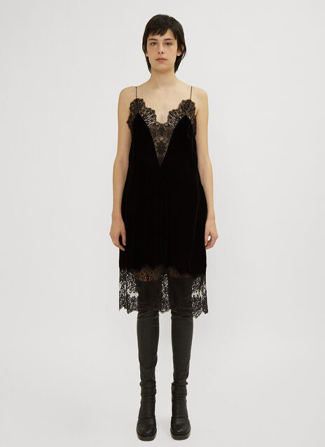 Stella McCartney Lace Trim Cami Dress