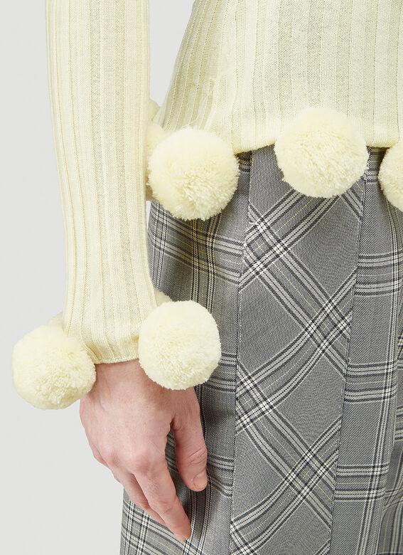 JW Anderson Pompom Ribbed Sweater 5