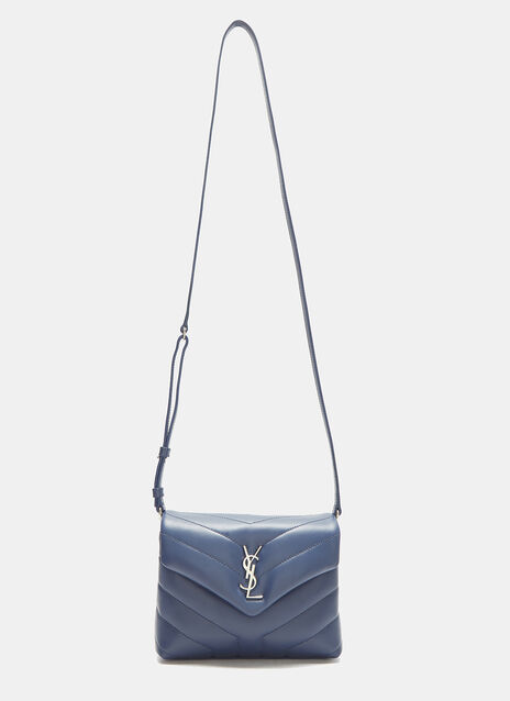 Saint Laurent Small LouLou Monogram Matelassé Handbag