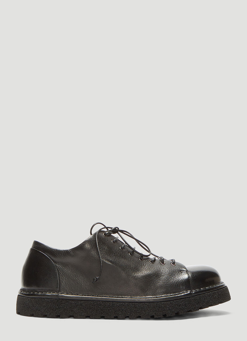 Marsèll Shoes Pallottola Derby Shoes in Black