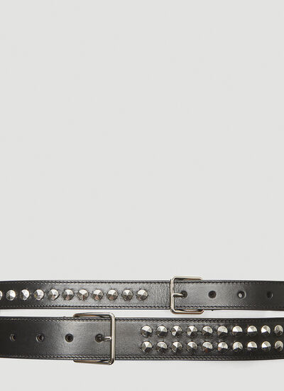 Alexander McQueen Studded Double Belt