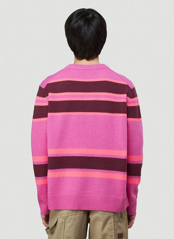 Acne Studios Striped Knit Sweater 4