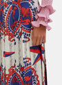 Gucci Scarf Print Pleated Skirt
