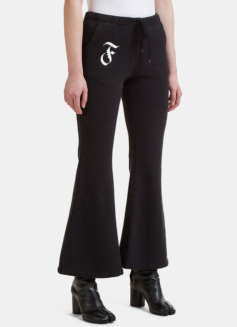 Facetasm Flared Sweat Pants