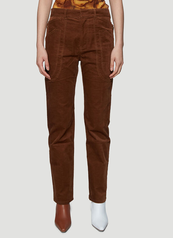 ASAI BRANCH FITTED COTTON WORK PANT 1