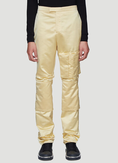 Raf Simons Slim-Fit Cargo Pocket Space Pants