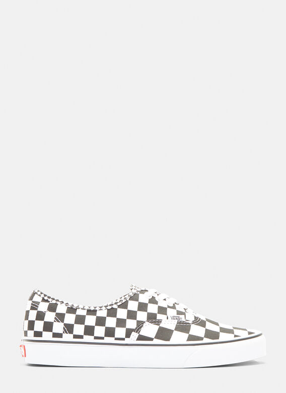 Vans Checker Authentic Lace-up Sneakers