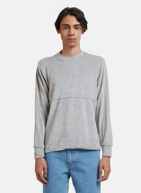 Eckhaus Latta Long Sleeve Lapped T-Shirt