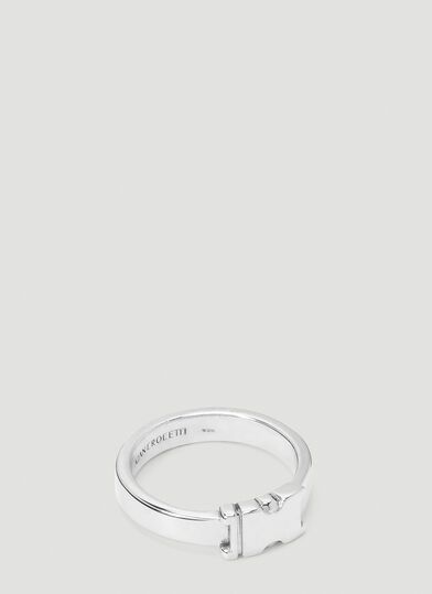Alan Crocetti Unity Ring in Silver