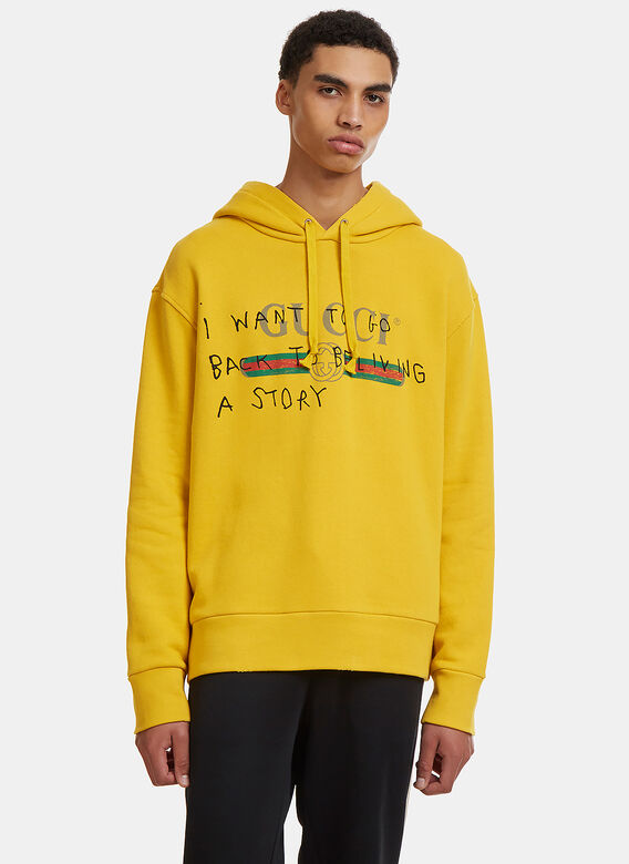 5041f95fc7c Gucci Story Hooded Sweater