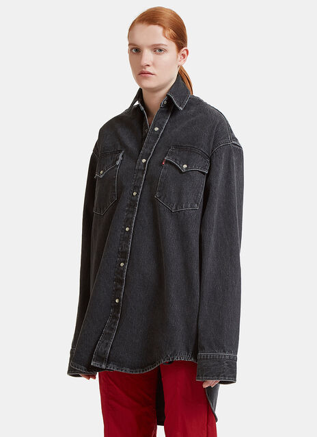 X Levi Heavy Denim Shirt