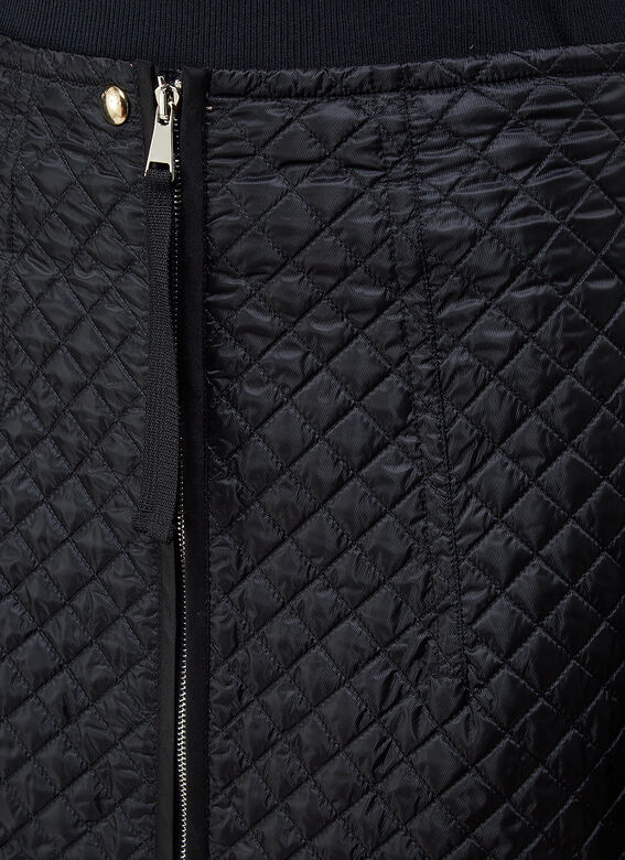 2 Moncler 1952 Quilted Skirt 5