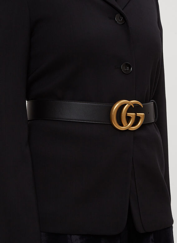 Gucci GG Marmont Leather Belt 2