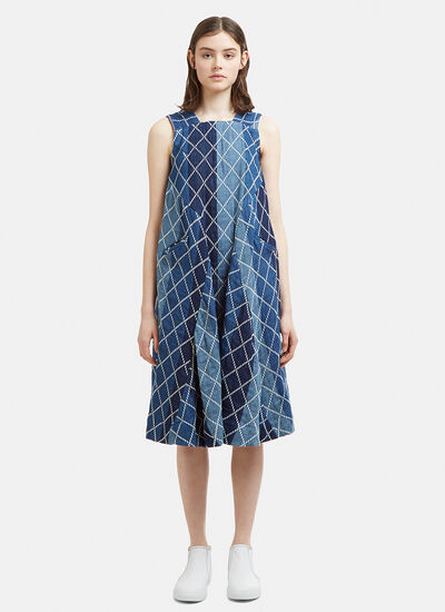 Eatable Of Many Orders Indican Stitch Dress