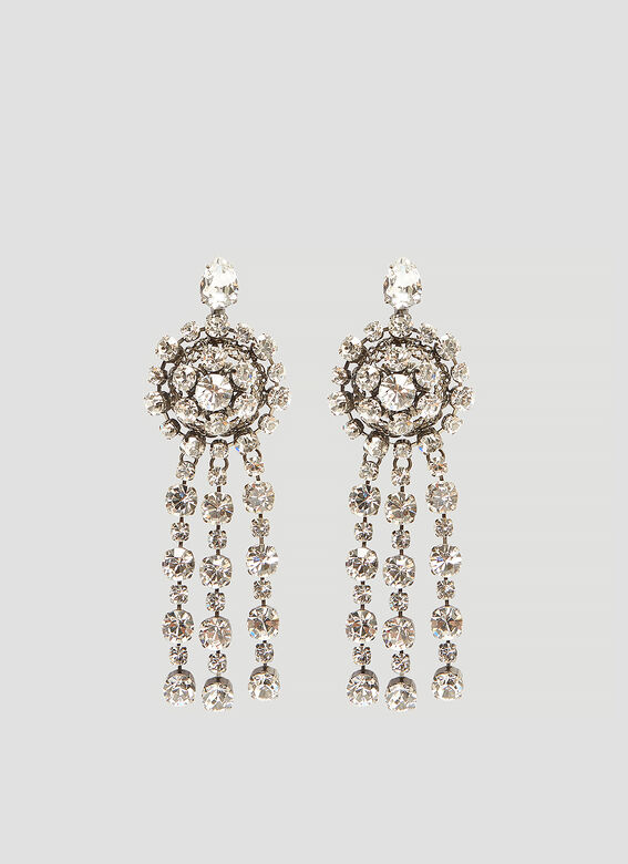 Gucci Crystal Drop Earrings
