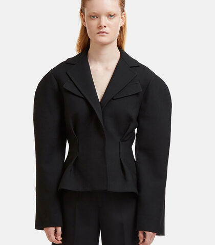 La Petite Veste Voluminous Blazer Jacket