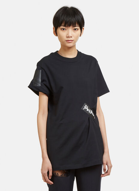Facetasm Basic Taped Logo T-Shirt