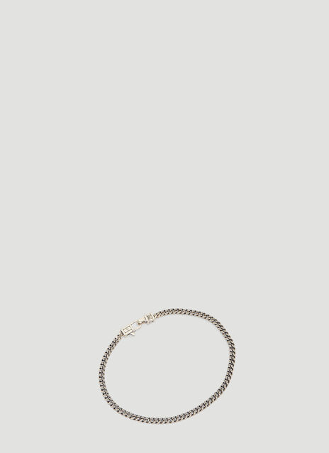 Tom Wood 7.7 inch Silver Curb Bracelet
