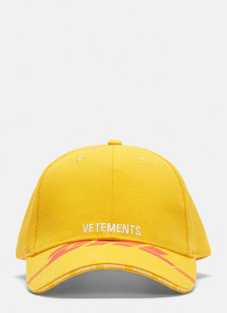 Vetements DHL Logo Baseball Cap
