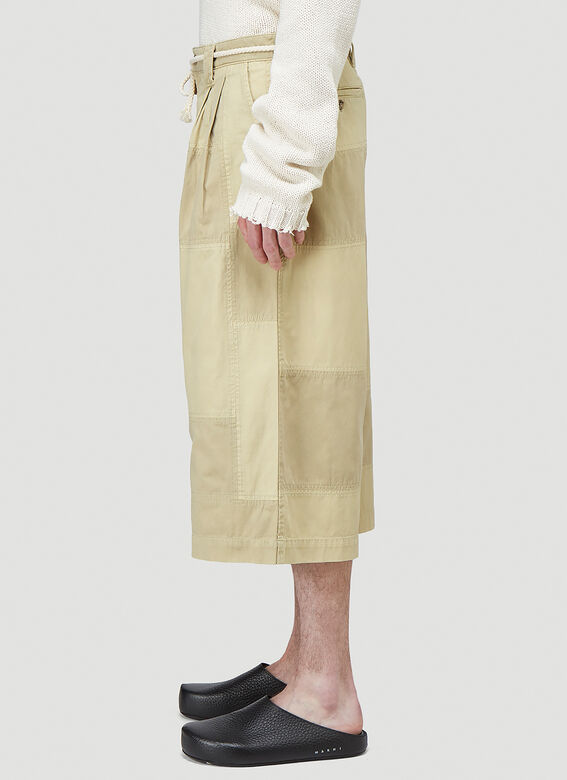 JW Anderson CROPPED TROUSERS PATCHWORK 3