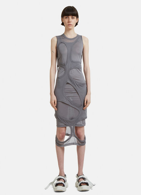 Rick Owens Holes Membrane Dress