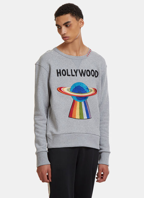 Embroidered Hollywood Sweater