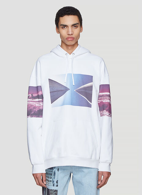 Calvin Klein Est 1978 Graphic Hooded Sweatshirt