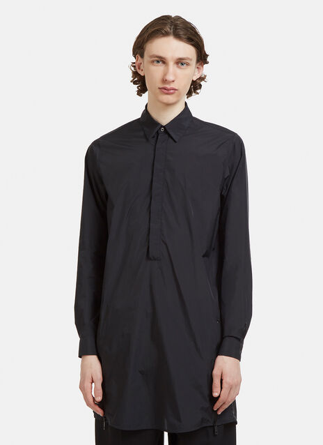 Jil Sander Technical Half Button Shirt