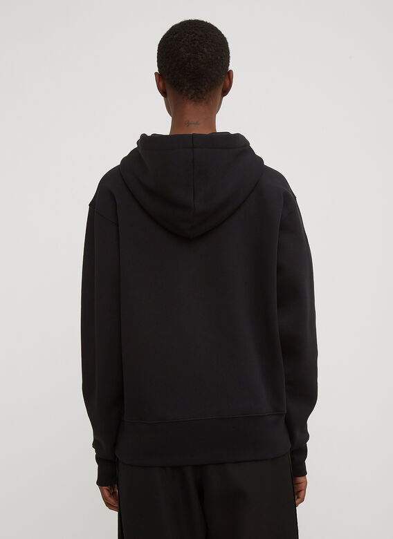 Acne Studios Hooded Ferris Face Zip-Up Sweatshirt