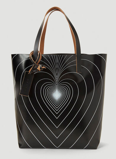 마르니 Marni Love Tote Bag in Black