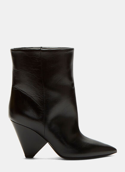 Image of Niki 85 Asymmetric Ankle Boots