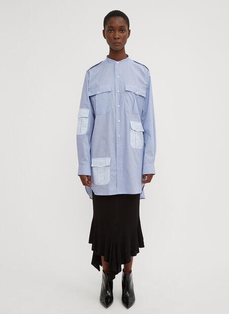 JW Anderson Long Workwear Pocket Shirt