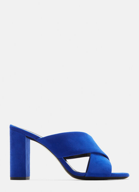 Saint Laurent LouLou 95 Mule Sandals