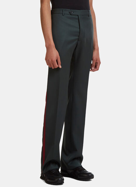 Grosgrain Stripe Suiting Pants