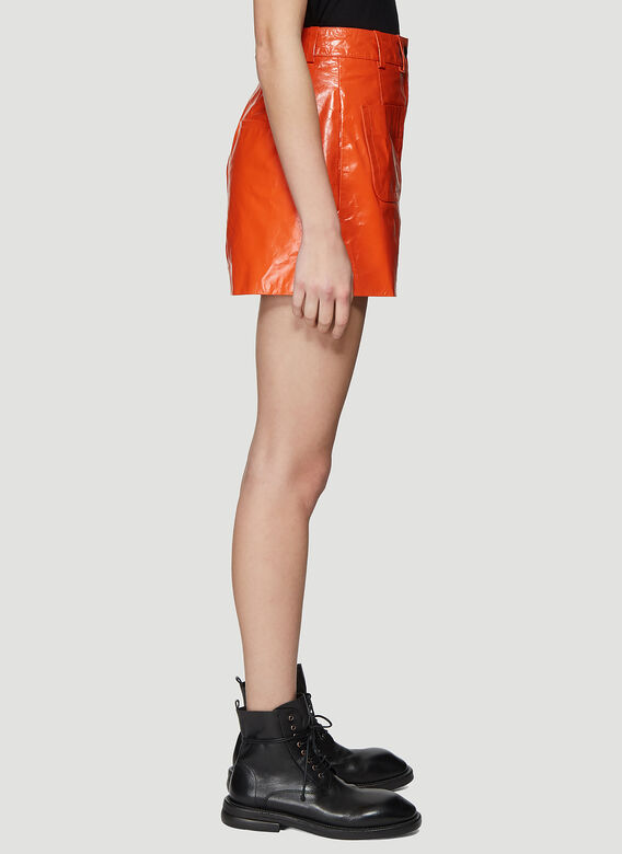 Olivier Theyskens SHORT WITH FRONT PATCH POCKETS 3