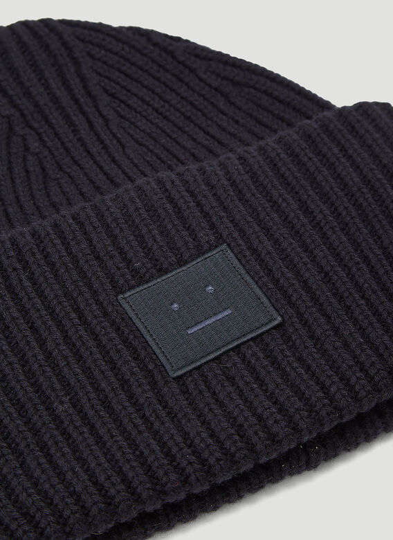 Acne Studios Pansy N Face Beanie Hat 4