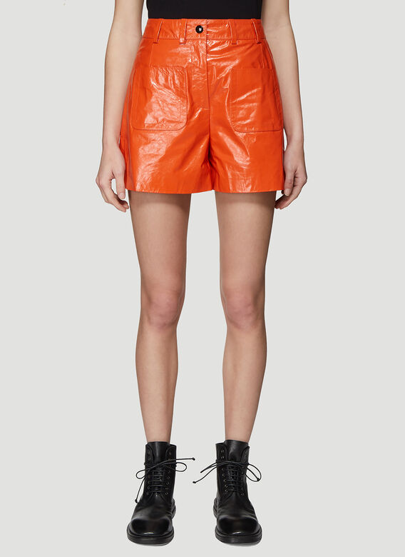 Olivier Theyskens SHORT WITH FRONT PATCH POCKETS 1